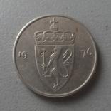 50  эре 1976  Норвегия  (О.1.14)  ~, фото №2