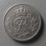 10  эре  1954  Дания   (О.1.24)  ~, фото №2