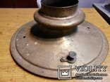 Крышка на самовар старинный №15 с клапоном, фото №6