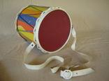 Игрушка детская барабан СССР, фото №4