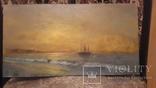 Морской пейзаж,подпись автора, фото №3