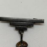 Серебряный знак Королевский военно-морской флот, фото №4