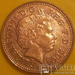 Велика Британія 1 пенні, 2004 фото 1