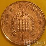 Велика Британія 1 пенні, 2004 фото 2