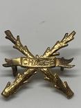Плечевая эмблема полка Шасси 1950-1963 гг., фото №2