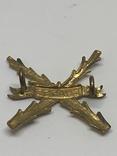 Плечевая эмблема полка Шасси 1950-1963 гг., фото №3