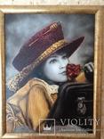 """Картина известного художника Седак Т.В. """"Мечтания"""" холст масло  40\3, фото №3"""