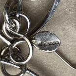 Колье и серьги, Англия (серебро,натуральный жемчуг,перламутр), фото №8