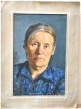 """Картина картон-масло """"Бабушка"""" 1960-е годы Чернюк В.Г, фото №2"""