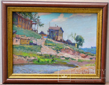 Картина картон-масло Н.Панчук - 1963 год, фото №2