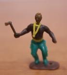 Лот из 5-ти цветных фигурок. 3 индейца и 2 ковбойца, фото №6