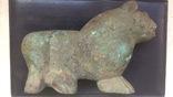 Бронзовый лев-скульптура 4.3 кг, фото №7
