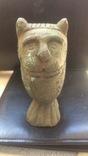 Бронзовый лев-скульптура 4.3 кг, фото №11