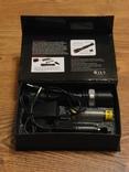 Аккумуляторный фонарь Poliсe T8626-Q5 SWAT, фото №2