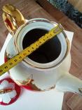 Огромный чайник в позолоте. Клеймо (бутон)., фото №8