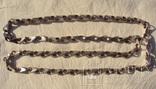 Фирменная цепь, Италия, 132 грамма., фото №2