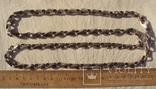 Фирменная цепь, Италия, 132 грамма., фото №3
