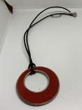 Красный кулон на шнурке от Английского бренда NEXT, фото №3