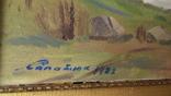 Сапатюк М. раз. 60 х 85 см., х.м., Засл.худ.Украины., фото №11