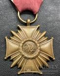 Крест за За слуги 3 ст. PRL Польша, фото №3