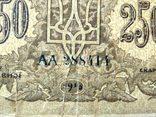 250 карбованцев 1918. АА 288414, фото №4