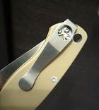 Скоба для скрытого ношения , нож Spyderco., фото №2