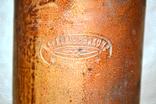 Керамическая бутылка 0.7л НЕРКОВИУСЬ и КОМ - РИГА. Дореволюционного времени., фото №7