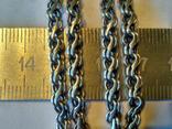 Цепочка 6 серебро, фото №3