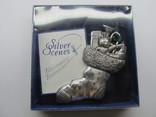 Посеребряная елочная игрушка, Англия, 1998г., маркировки, фото №7