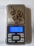 Серебряные крестик и цепочка., фото №2