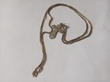 Серебряные крестик и цепочка., фото №3