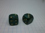 Пара кубиков для игр., фото №3