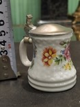 Кружка декоративная коллекционная фарфор металл клеймо, фото №10
