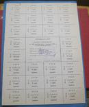 Картка споживача 100 крб 1991 подпись