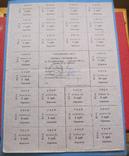 Картка споживача 75 крб 1991 р подписана