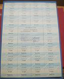 Картка споживача 75 карбованцев без даты