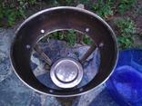 Ваза конфетница изящная металл стекло, фото №8