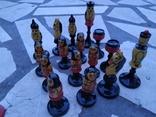 Шахматы набор росписные яркие новые, фото №8