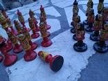 Шахматы набор росписные яркие новые, фото №12