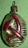 Медальйон серп и молот., фото №2