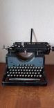 Немецкая печатная машинка Adler, фото №2