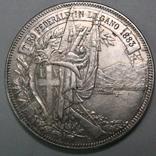 5 франков 1883. Серебро. 25,10 г, фото №2