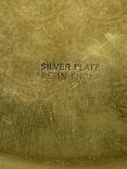 Винтажная Тарелка Silver Plate Made in England, фото №7