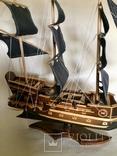 Парусник 3х мачтовый (пиратский корабль) Черная жемчужина, фото №3