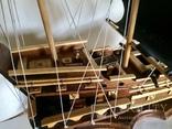 Парусник 3х мачтовый (пиратский корабль) Черная жемчужина, фото №4