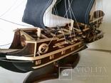 Парусник 3х мачтовый (пиратский корабль) Черная жемчужина, фото №7