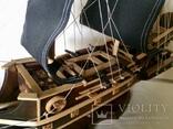 Парусник 3х мачтовый (пиратский корабль) Черная жемчужина, фото №8