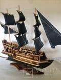 Парусник 3х мачтовый (пиратский корабль) Черная жемчужина, фото №12
