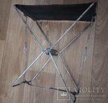 Раскладной стульчик.Высота 30 см.(СССР), фото №4