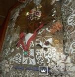 Икона Св. Николай. Дерево 46 Х 40 см., фото №9